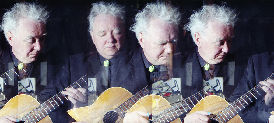 Multiple exposure image of Billy Jenkins by Beowulf Mayfield